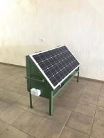Передвижной солнечный энергоблок